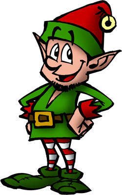 Free Elves Clipart Pictures image #45820