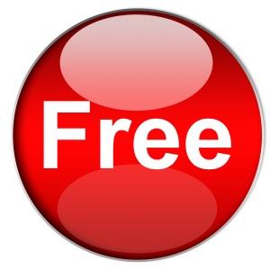 red, circle, round, free icon