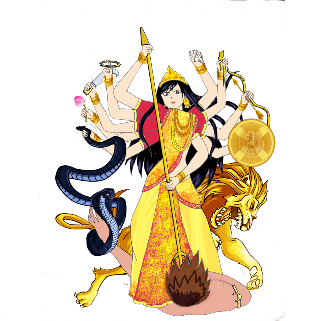 Free Maa Durga Clipart Pictures
