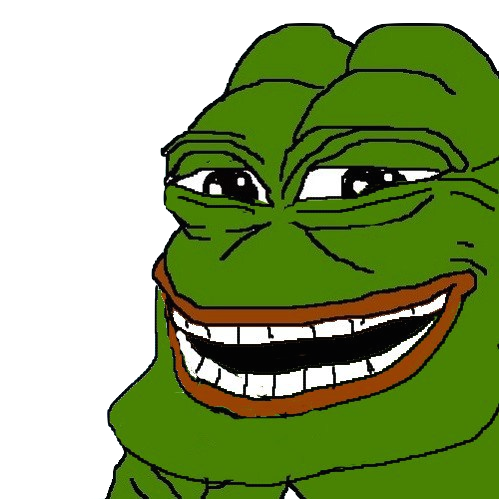 Happy Free Pepe Clipart Png image #45790