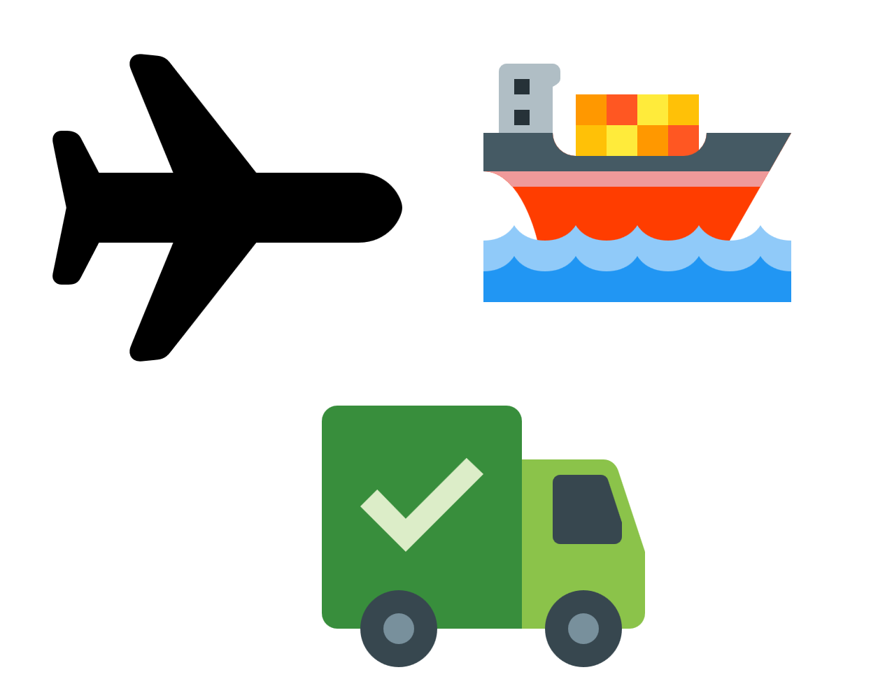 Free Shipping, Boat, Car, Airplane Transparent PNG image #46941