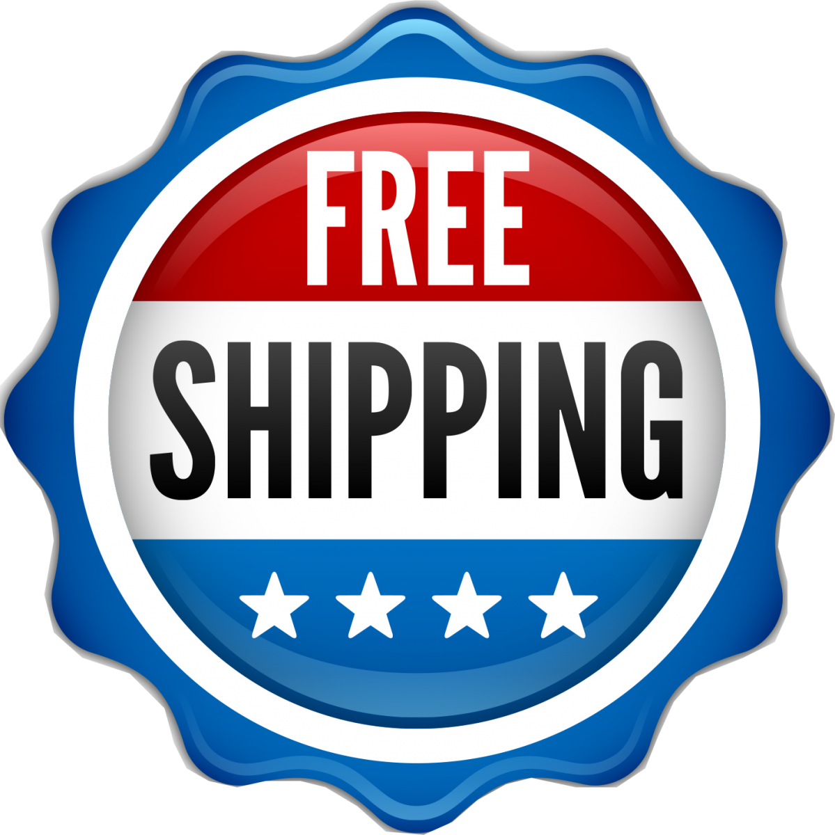 Free Shipping Circle Icon Transparent Background image #46927