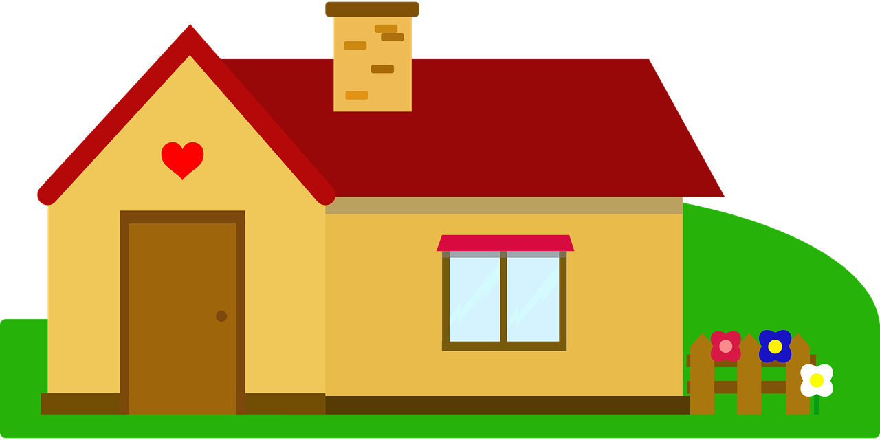 Free Simple House Clip Art