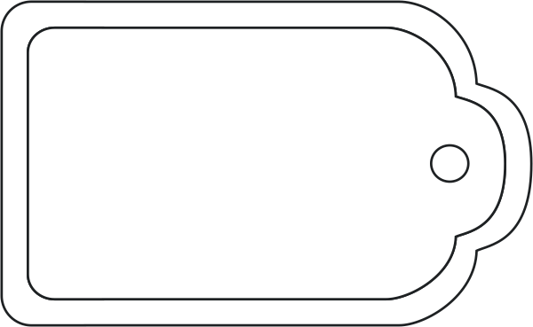 Blank Tag Png Available In Different Size image #9236