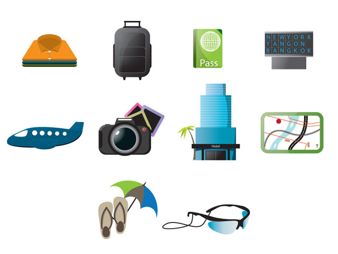 Free Travel Icons 10173   Free Vectors image #212