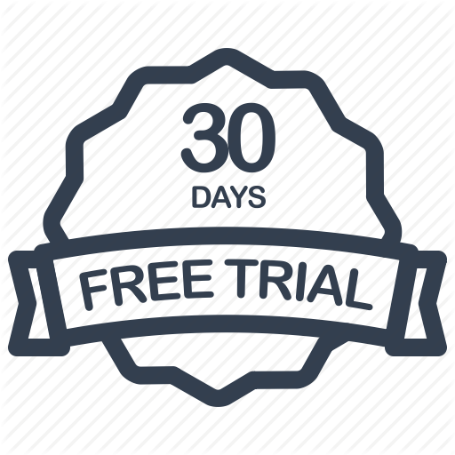 free trial 30 days icon
