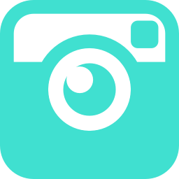 Free turquoise instagram icon  Download turquoise instagram icon