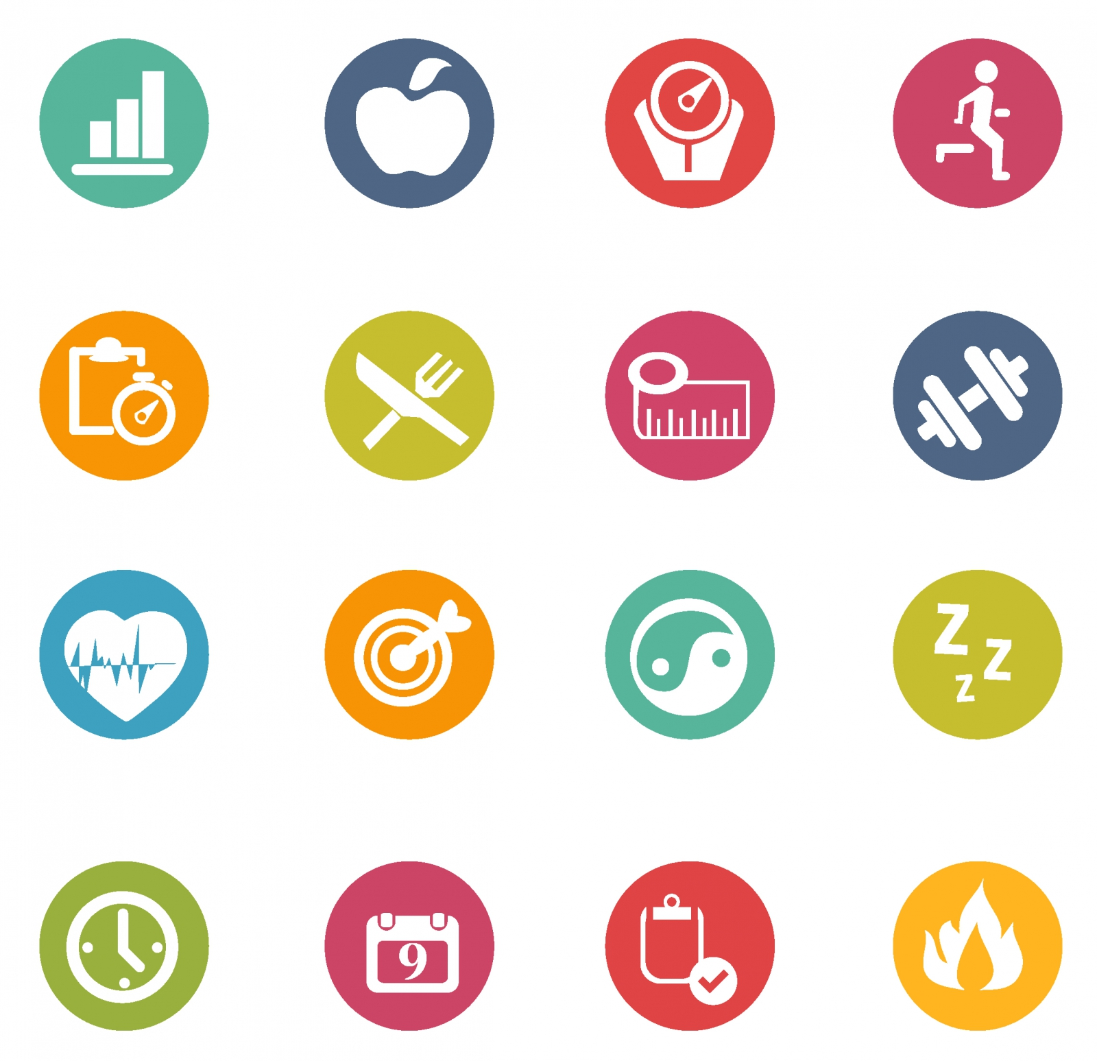 Free Vector Fitness Icons 132989 Fitness Icons Png Transparent Background Free Download 292 Freeiconspng