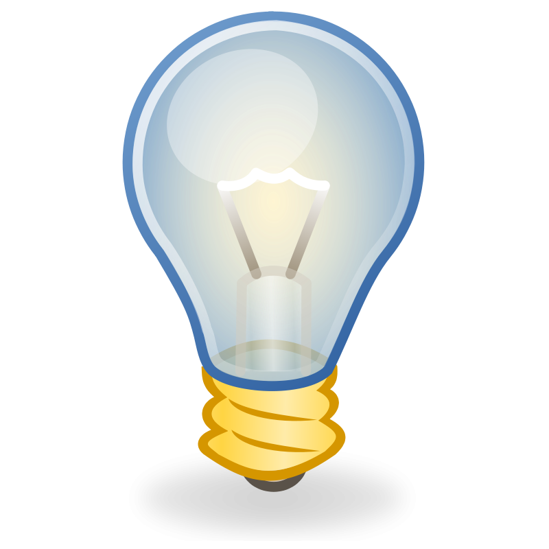 free vector light bulb icon 098268 Light bulb icon