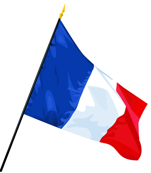 Clipart French Flag PNG image #29323