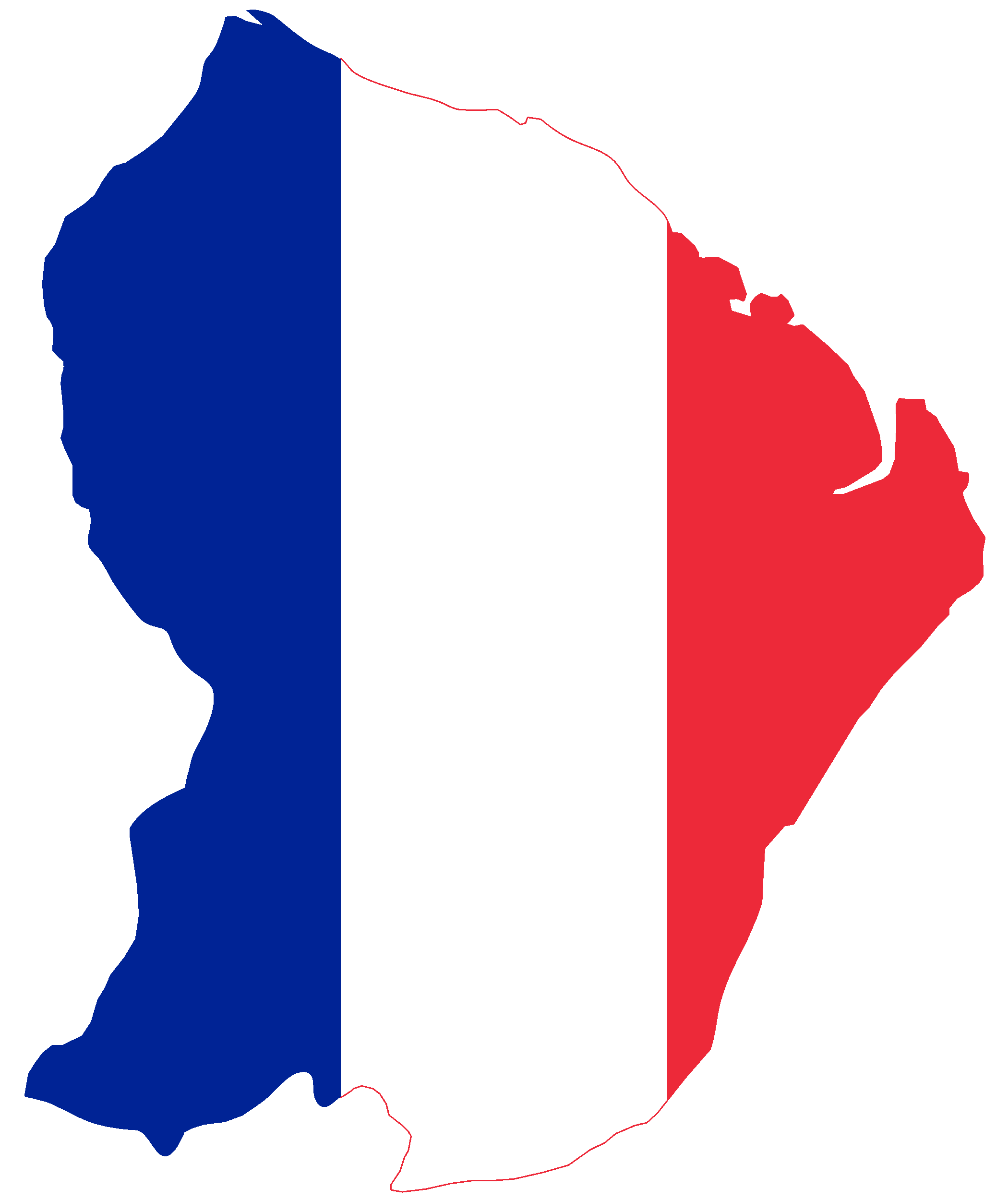 French Flag Background