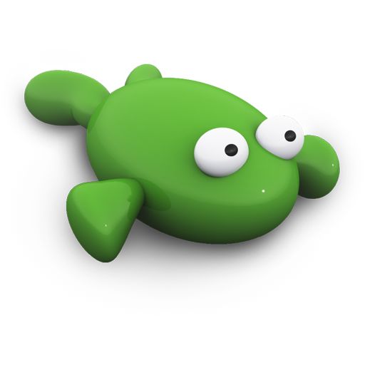 Icon Frog Svg image #10595