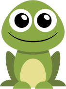 Frog Icon  Library image #10601