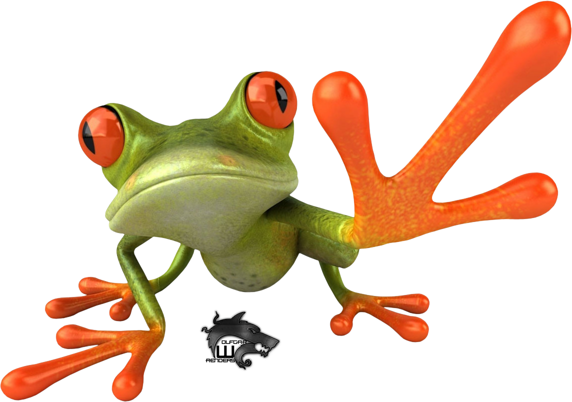 Frog PNG image #43129