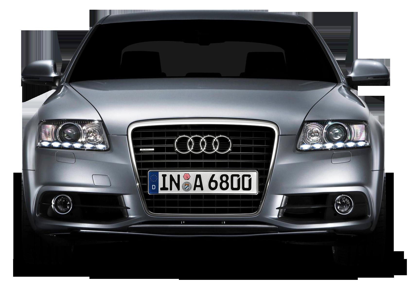 Front side Audi Car PNG Image