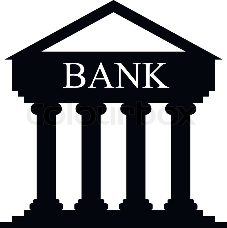 Full Size JPG Preview: Bank Building Icon image #5967