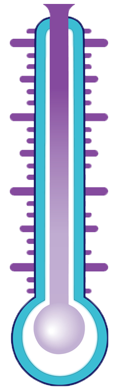 Fundraising Thermometer Png image #30908