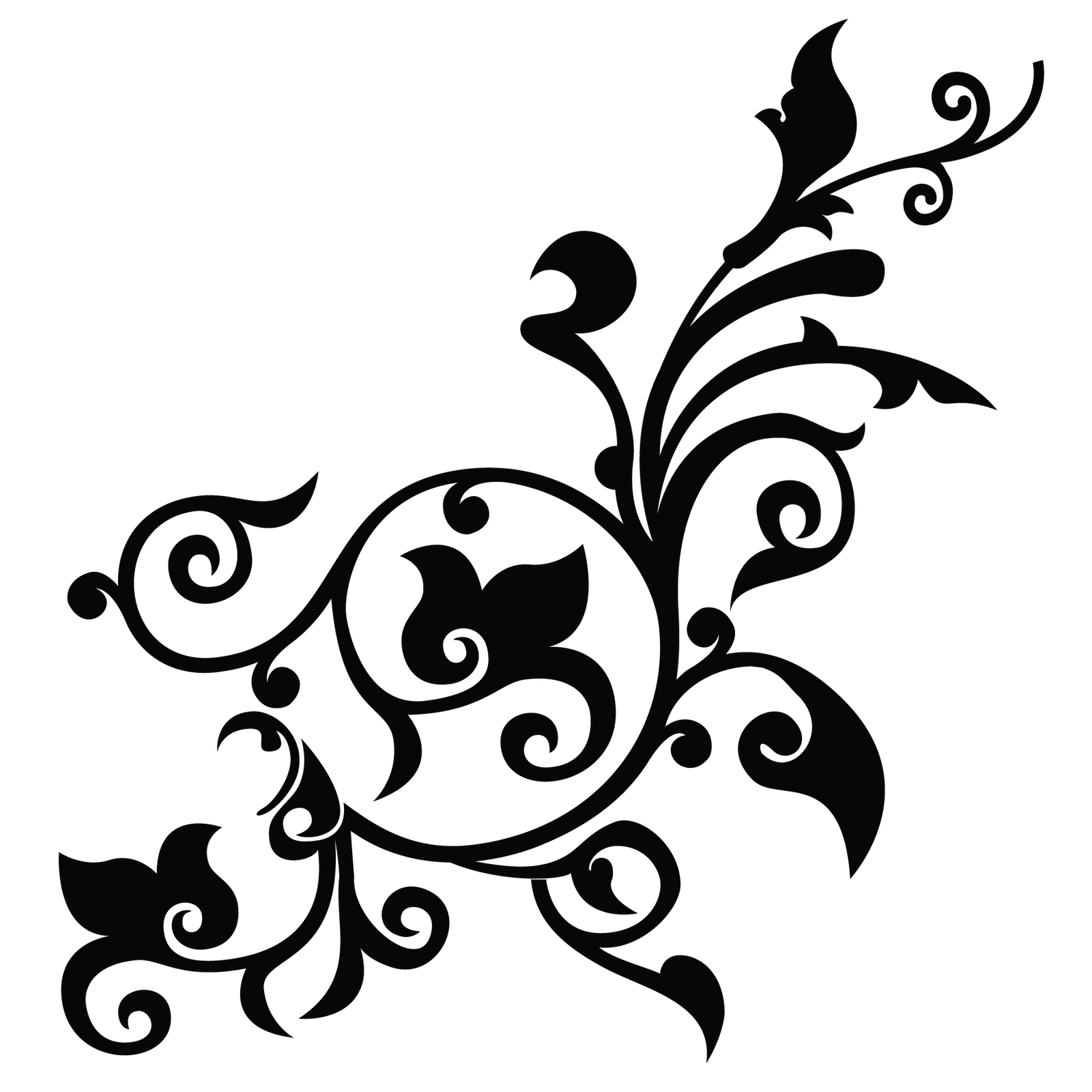 Flower Black And White Transparent Png Pictures Free Icons And Png