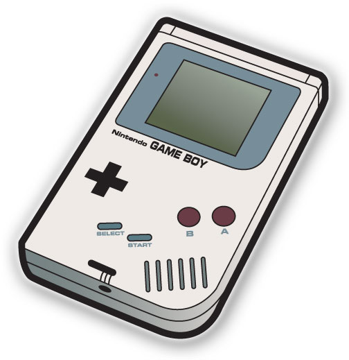 Gameboy Icon Vector image #17226