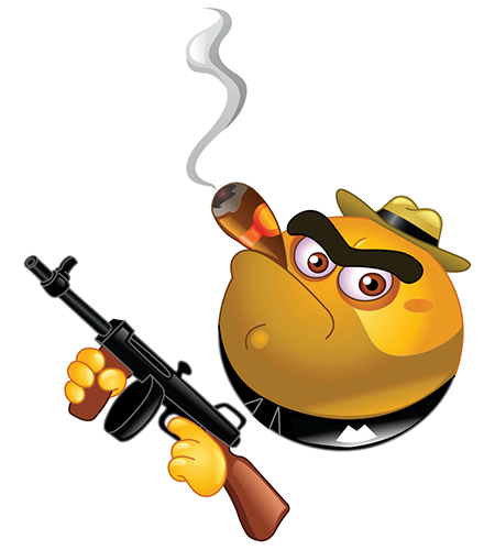 Gangster Emoticons Icon image #33795