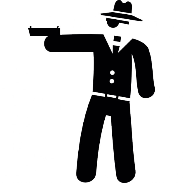 Vector Gangster Icon image #33792