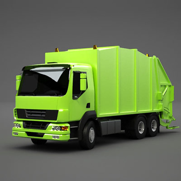 Hd Icon Garbage Truck image #24321