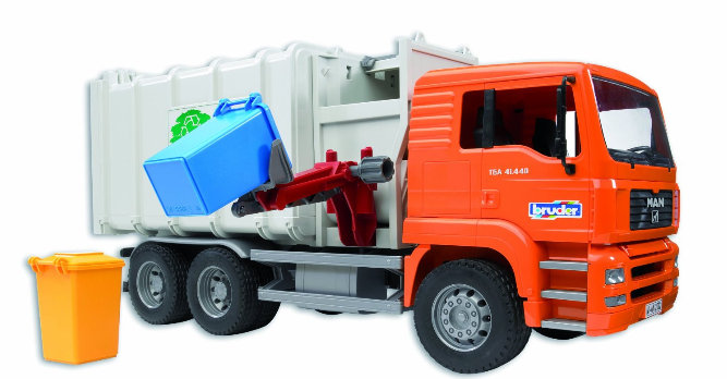Vector Free Garbage Truck Png Download