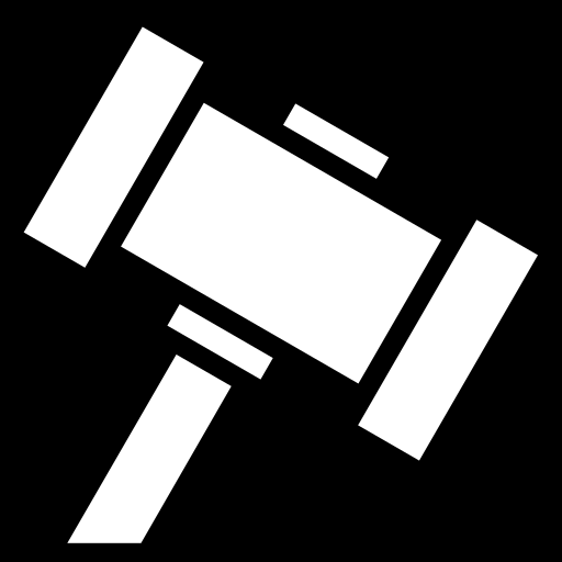 Gavel Svg Icon image #18671