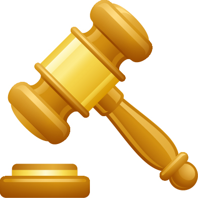 Gavel Icon Vector image #18681