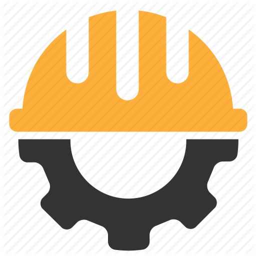 Gear, Hardhat, Helmet, Settings Icon image #21019