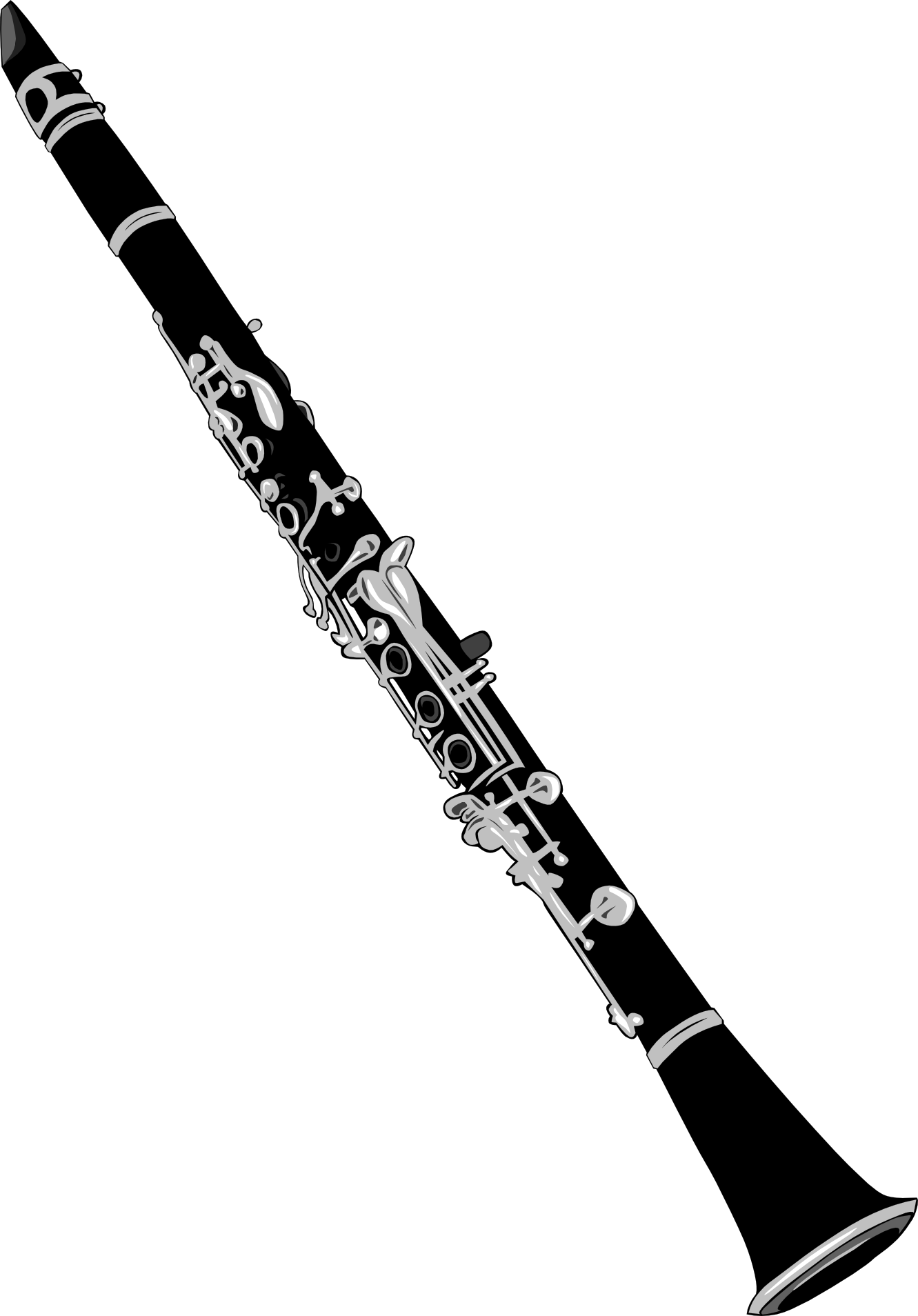 Gerald G Clarinet PNG  Clipart image #41309