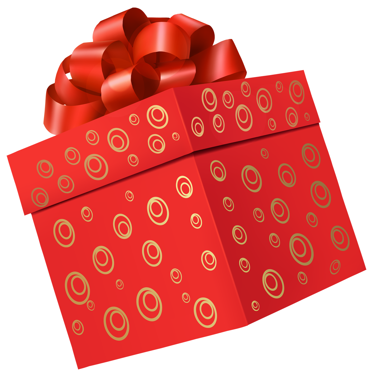 Pic PNG Gift Red Box