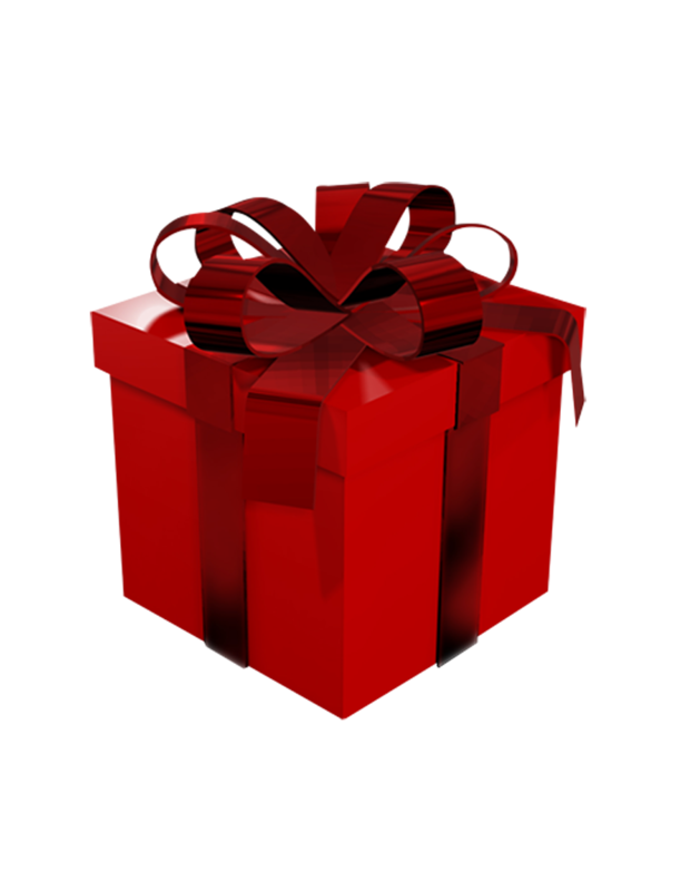 Gift Red Box Png image #39664