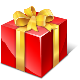 Gift Red Box Png image #39675