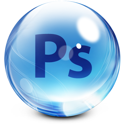 Glassy Adobe Photoshop Icon image #5515