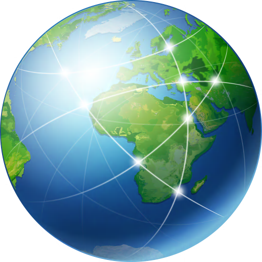 Global Network Icon | Free Global Security Iconset | Aha Soft