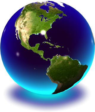 Globe Earth Png image #25626