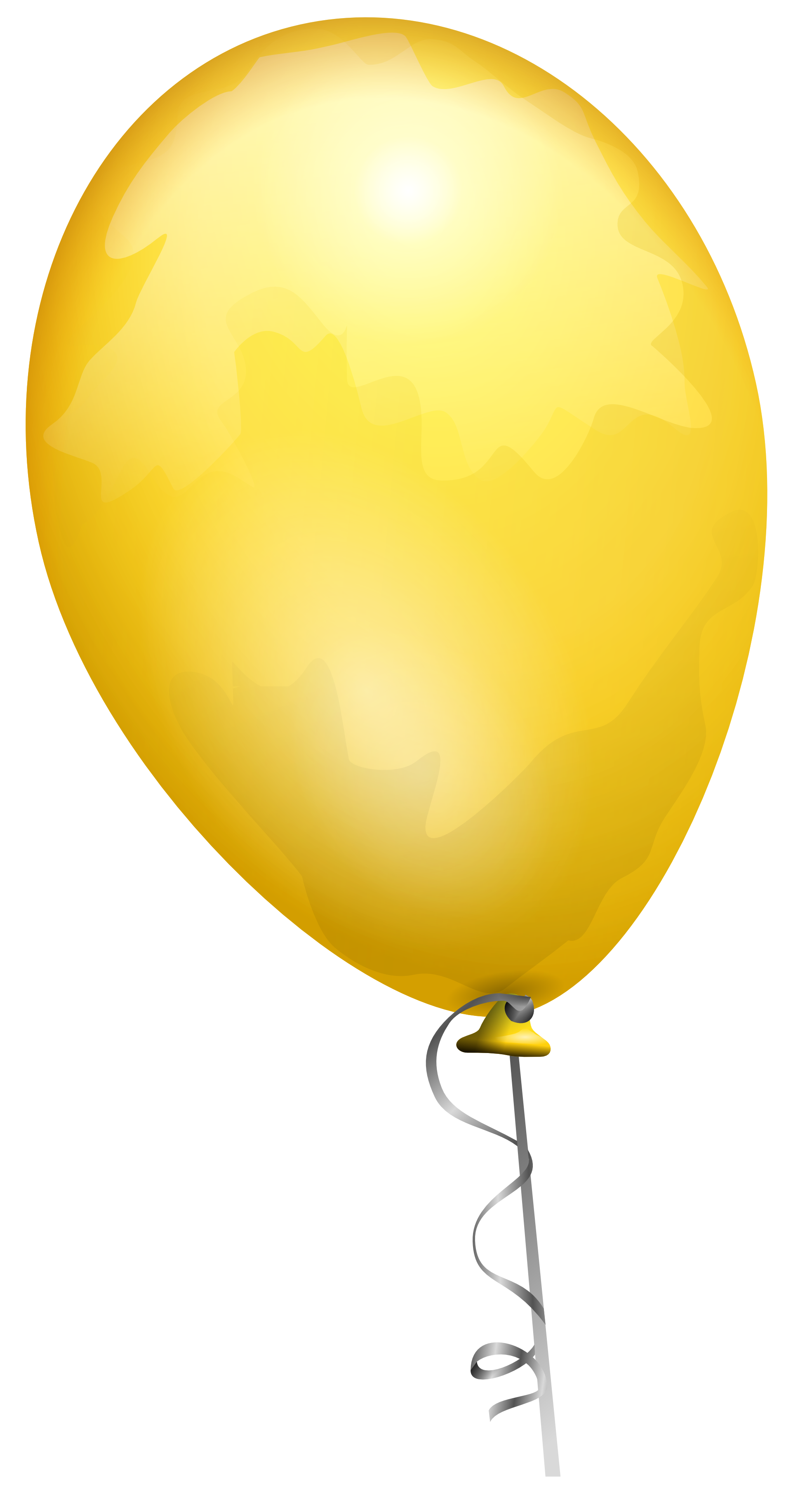 Gold Balloon Png image #28081