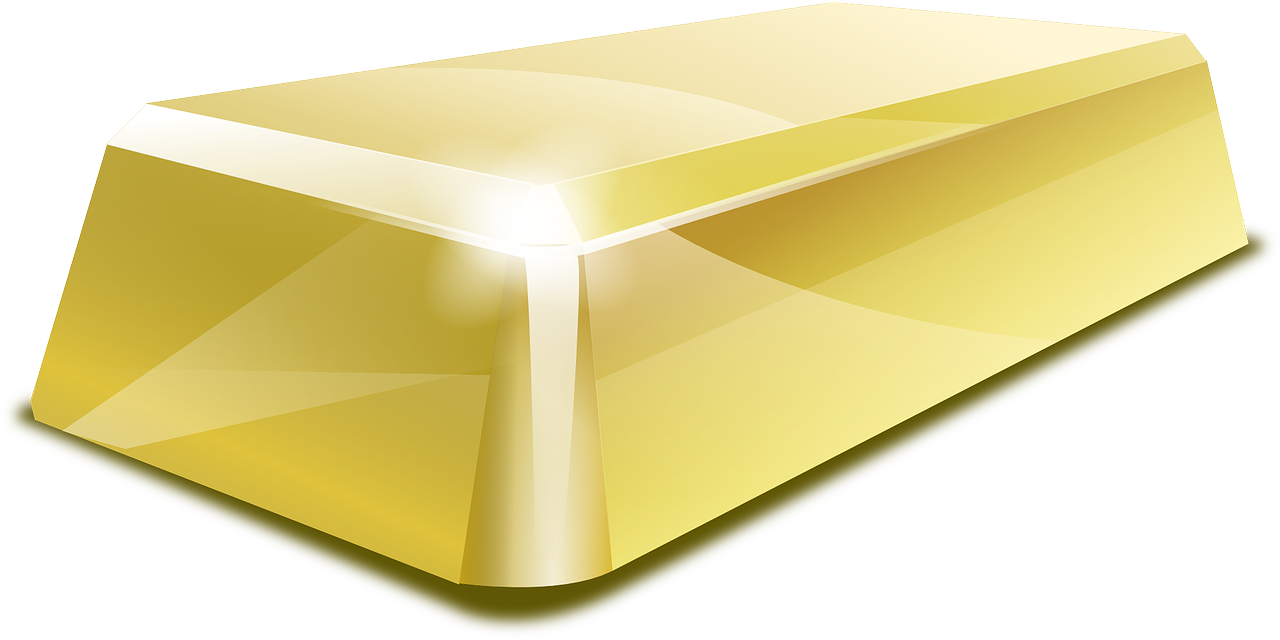 Gold Bar Icon Png image #41010