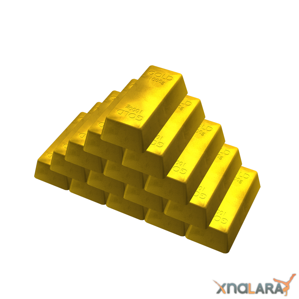 Transparent Gold Bar Image PNG image #41004