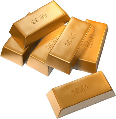 Gold Bar Image PNG Transparent image #41007