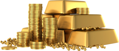 Gold Bars Png image #41027