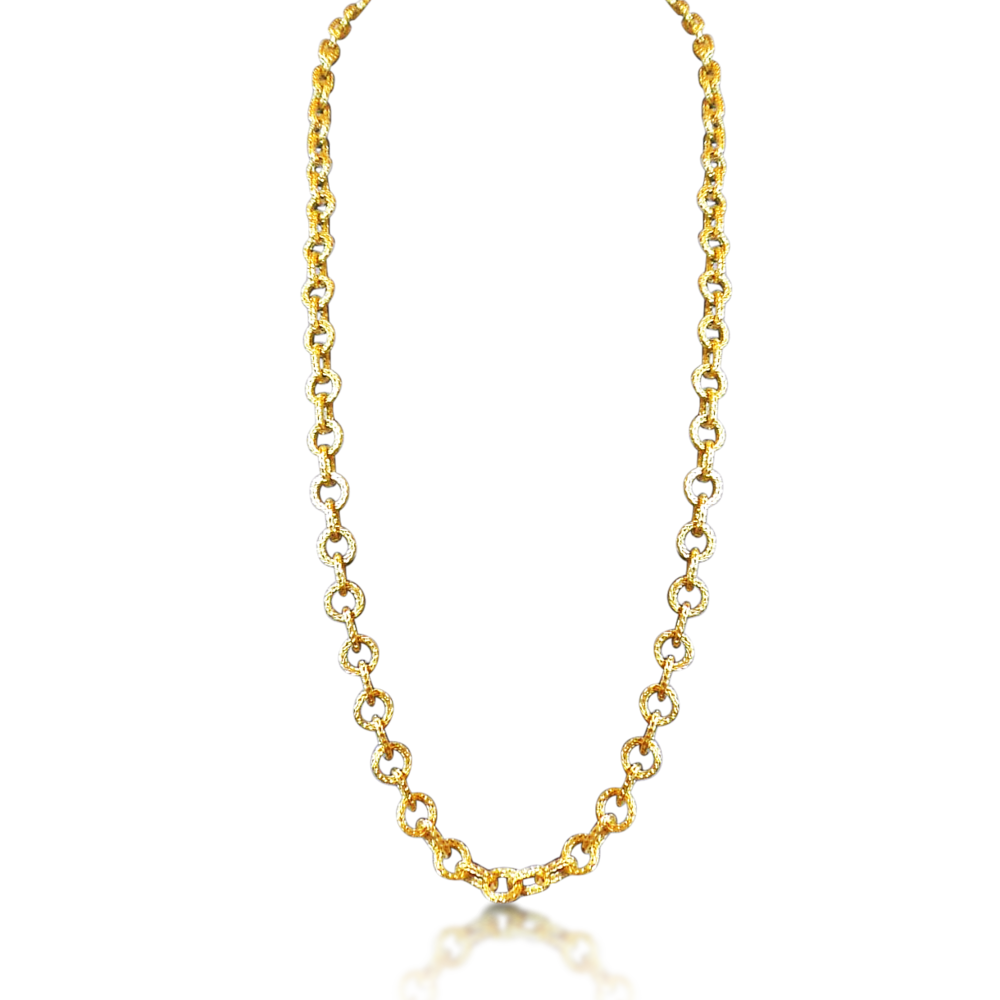 Gold Chain Png image #42712