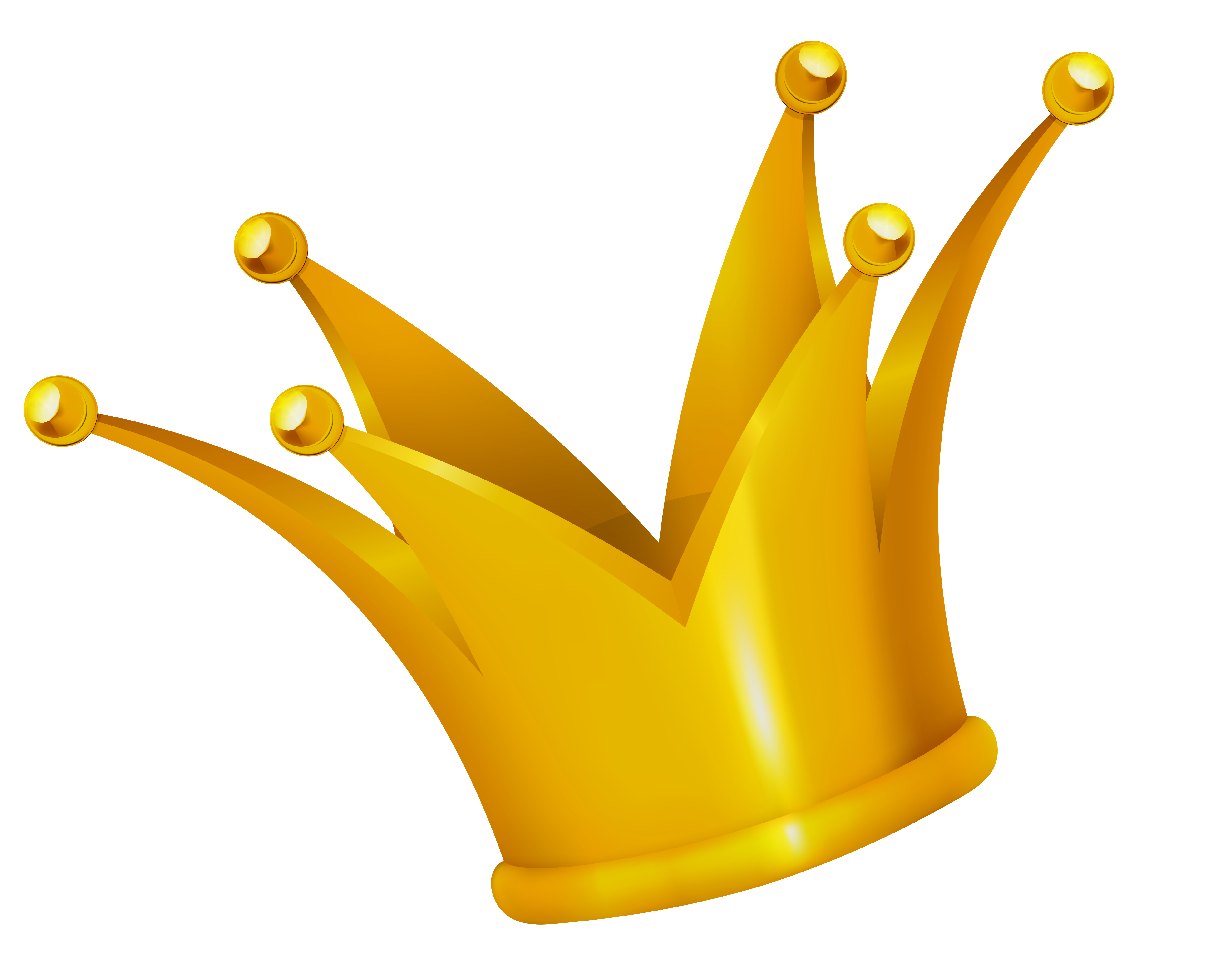 Gold Crown Png image #29920