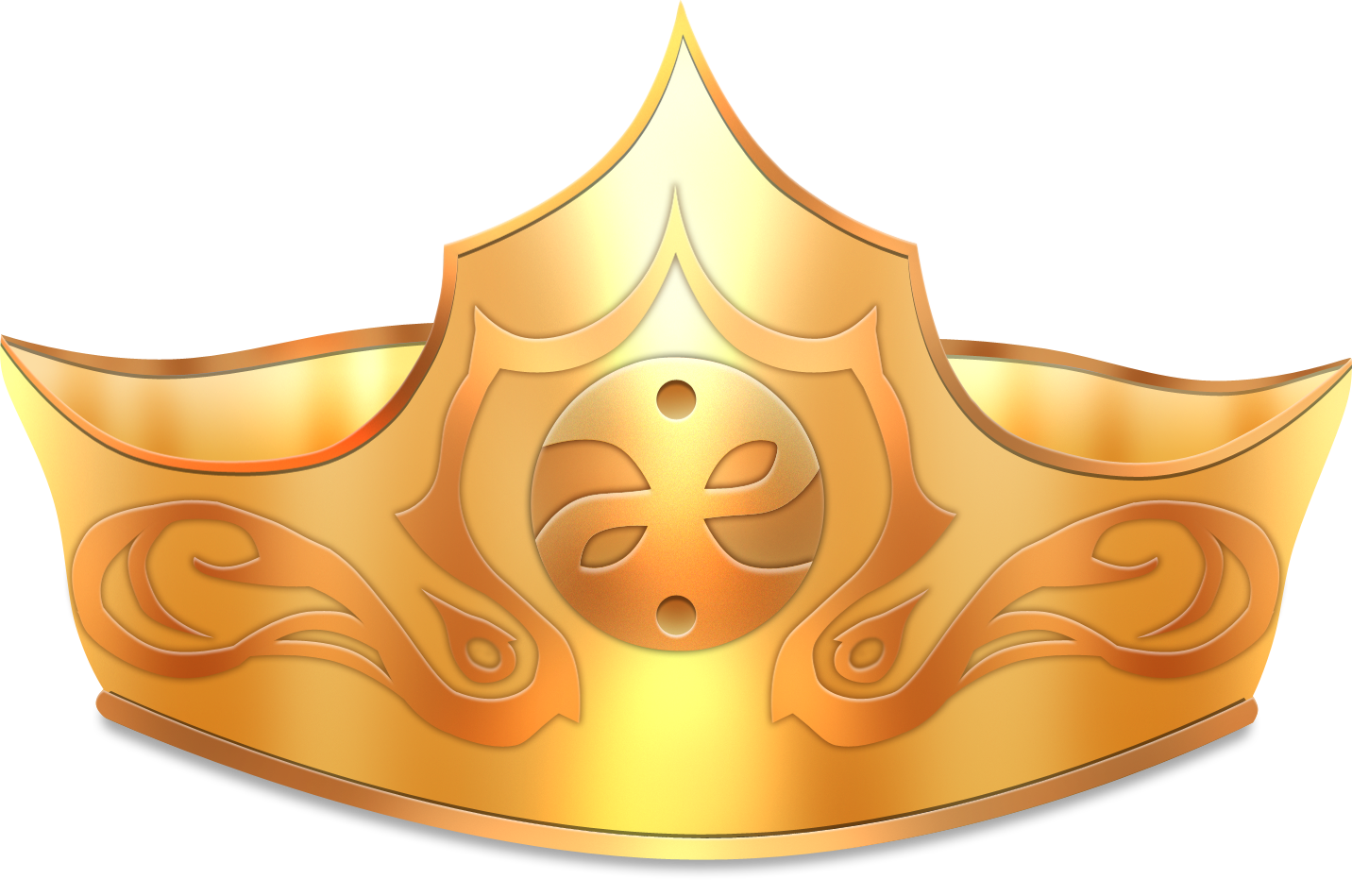 Gold Crown Png image #29929
