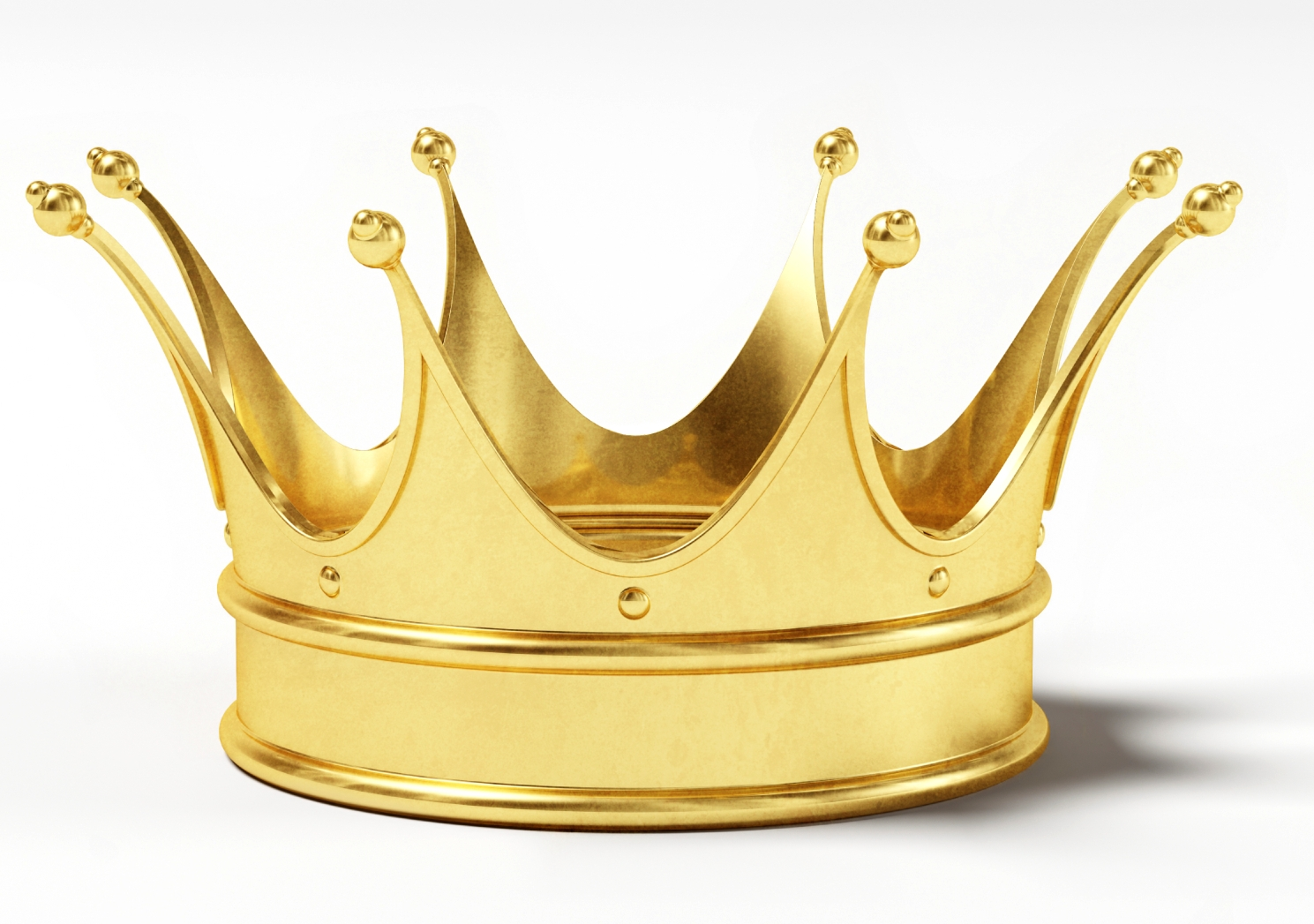 Gold Crown Png image #29939