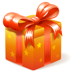 Golden Birthday Gift Png image #39913