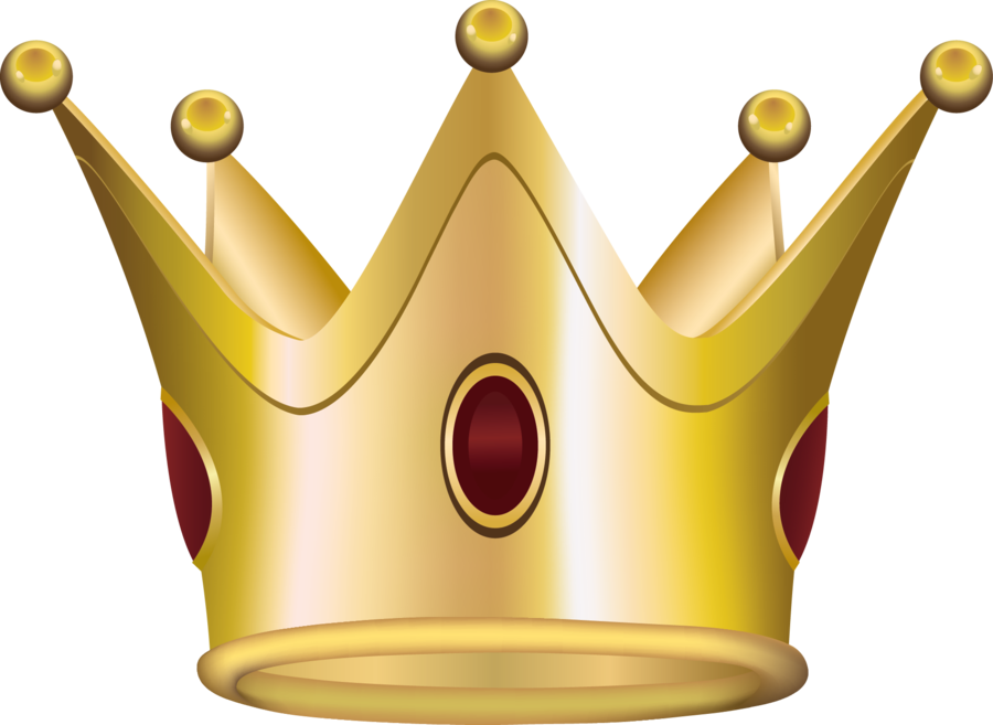 Golden Crown Png image #29933