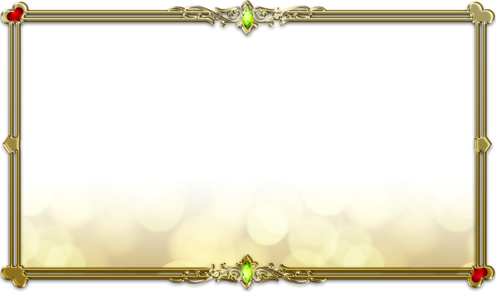 Frame Gold Transparent PNG Pictures