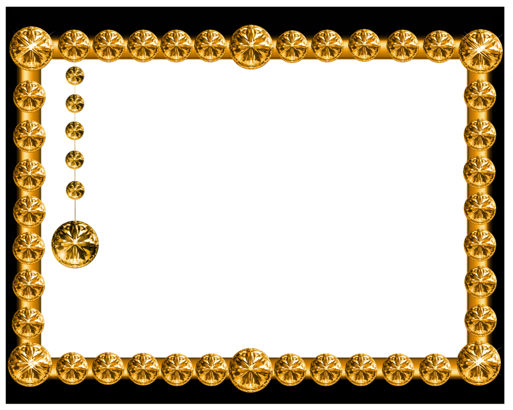 Frame Gold Transparent PNG Pictures - Free Icons and PNG ...